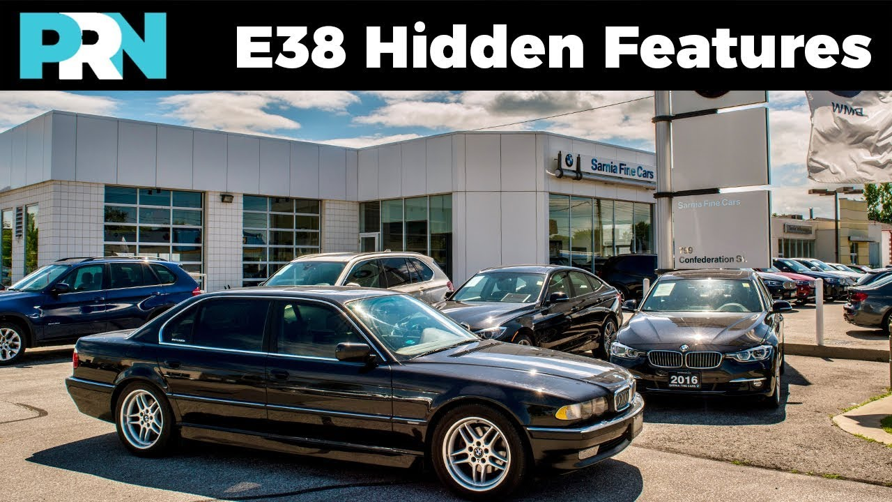 e38 bmw hidden & unknown features | 2001 bmw 740il