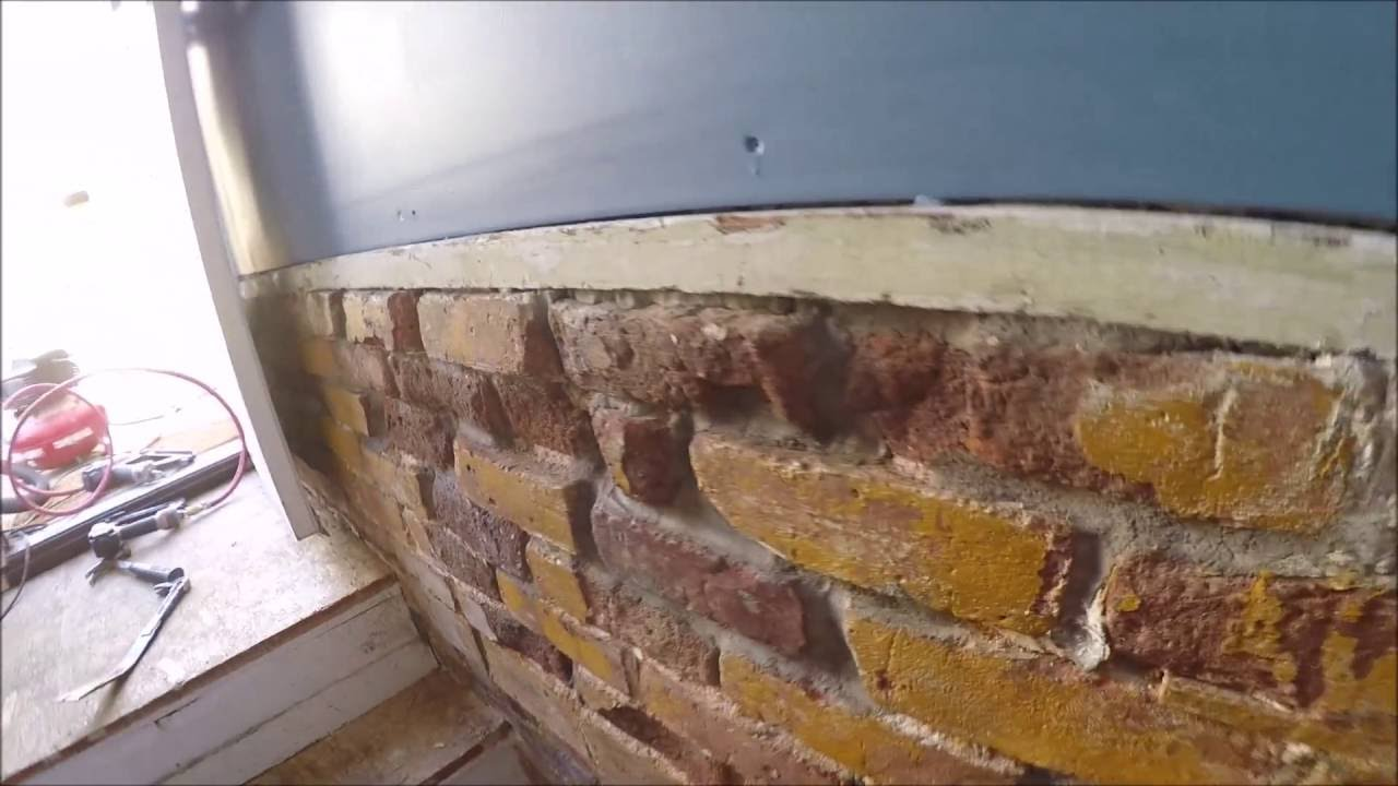 How To Fix A Brick Wall 100 Year Old