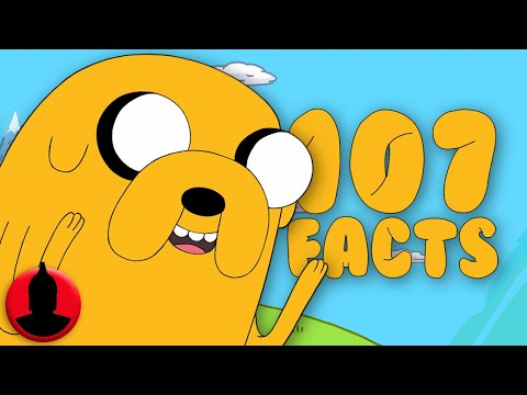 107 Jake the Dog Facts YOU Should Know - Adventure Time Facts! (107 Facts S6 E16)