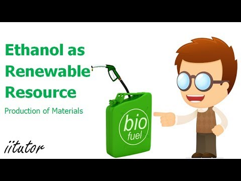 √√ Ethanol as a renewable resource | Production of Materials | iitutor