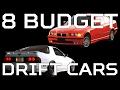 8 Budget Drift Cars