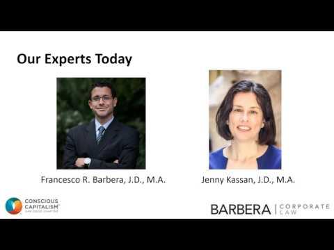 Raising Capital for Impact Driven Ventures  - Conscious Content Friday LIVE