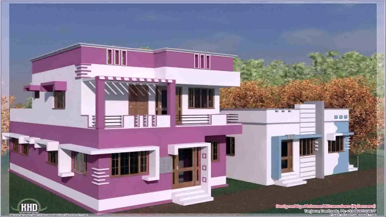 Indian Home Exterior Paint Ideas Youtube