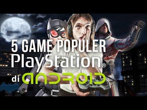 5 Game Populer Playstation yang Ada di Android