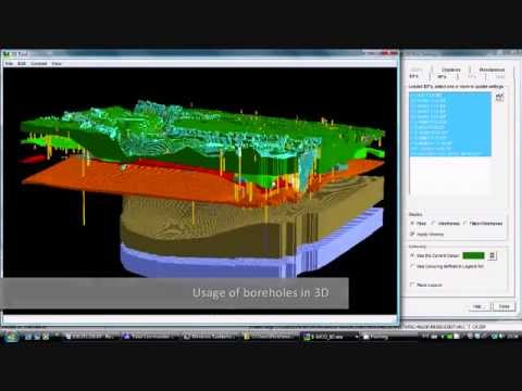 iMOD 3D geology Demostration