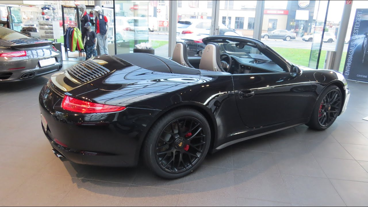 2015 porsche 911 carrera gts cabriolet youtube. Black Bedroom Furniture Sets. Home Design Ideas
