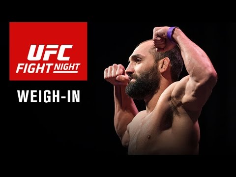 Fight Night Las Vegas: Official Weigh-in