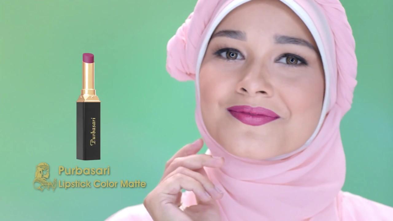 Iklan Lipstik Purbasari Color Matte Youtube