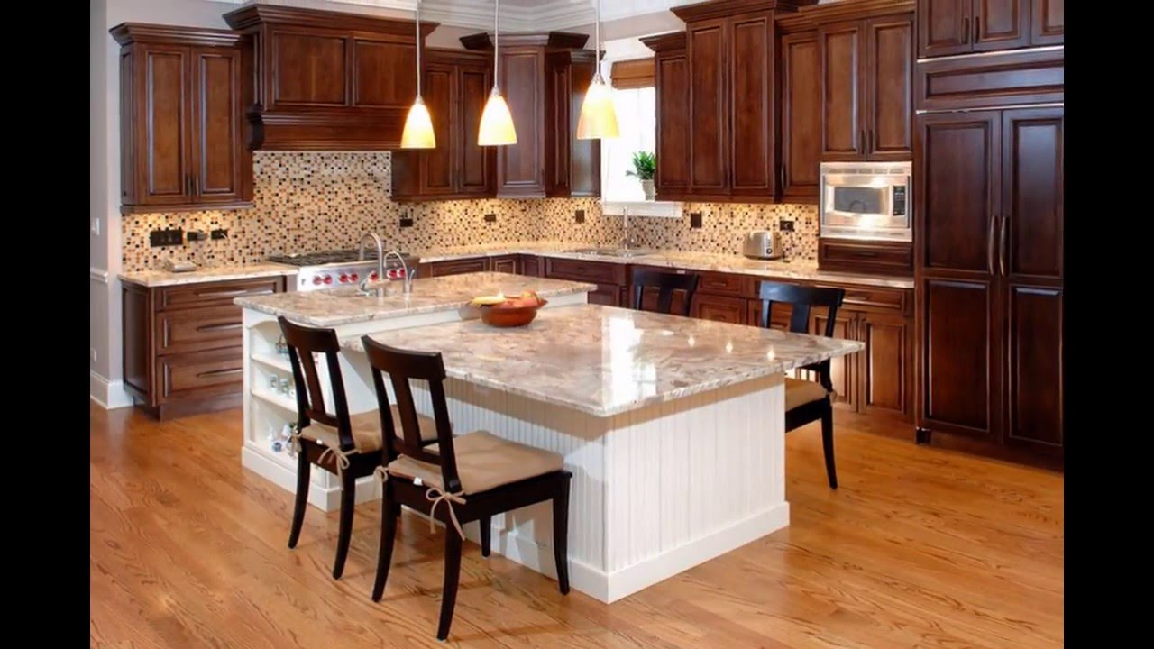 Custom Kitchen Cabinets | Semi Custom Kitchen Cabinets - YouTube
