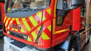 (SDIS 84) Caserne + véhicules  sapeurs-pompiers Avignon!