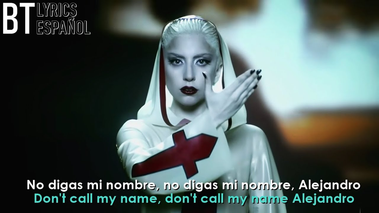 Download Lady Gaga - Alejandro (Lyrics + Español) Video Official   4K