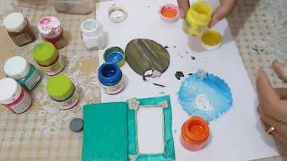 DIY How to make Fridge Magnet with Shilpkar || M seal Art