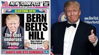 New York Post Endorses Trump & Disagrees With All His Policies