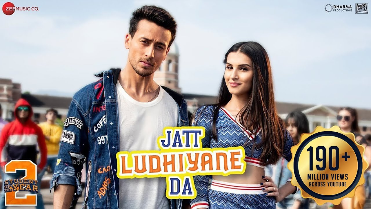 Student Of The Year 2 | Song - Jatt Ludhiyane Da