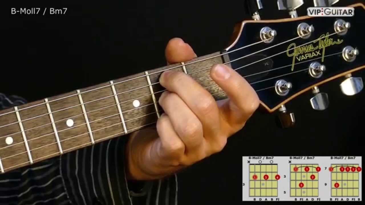 Bm7 guitar chord gallery guitar chords examples gitarrenakkorde b moll7 bm7 chord youtube gitarrenakkorde b moll7 bm7 chord fatherlandz gallery hexwebz Gallery