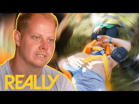 Motocross Rider Faces The Possibility Of Paralysis After Accident | Helicopter ER