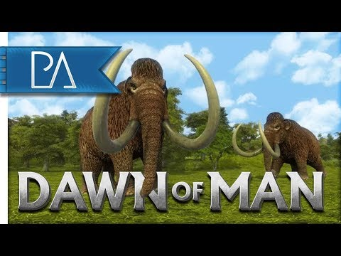 DAWN OF MAN - PALEOLITHIC CITY BUILDING! - My First Look