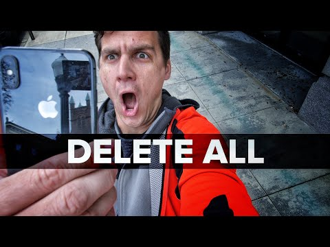 How To Delete All Photos iPhone *IN SECONDS* Select All Hack