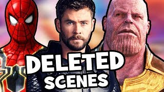 Avengers Infinity War DELETED & FAKE Scenes Explained