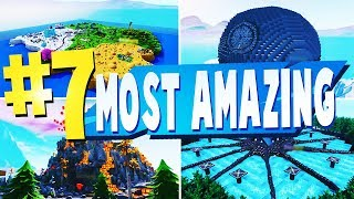 TOP 7 MOST AMAZING Creative Maps In Fortnite | Fortnite Creative Map CODES