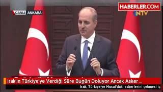 Irak ın Türkiye Ye Verdiği Süre Bugün Doluyor Ancak Asker Çekilmeyecek