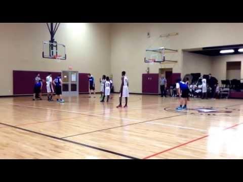 Levon Deion Batman Basketball (ILTexas Vs NorthStar Academy) 2014