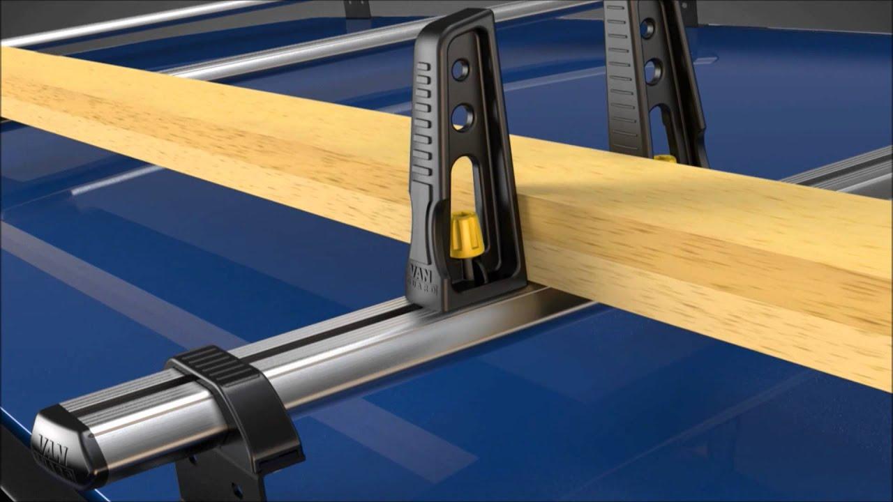 Vanguard UltiBar Van Roof Racks from www.workwearzone.co ...