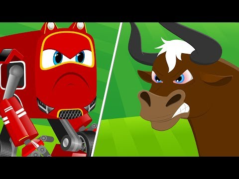 Supercar Baby Rikki Vs Magic Bull | Kids Car Cartoon Rhymes