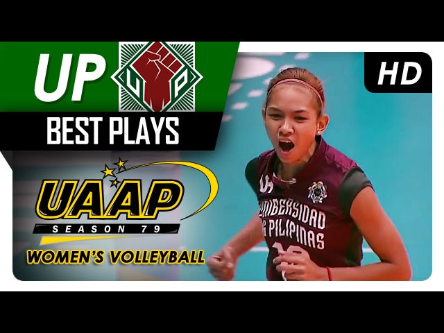 Tiamzon gets it to go on her second try!   UP   Best Plays   UAAP 79 WV