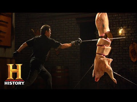 Forged in Fire: Musketeer Rapier Final Round: Teddy vs Jesse (Season 7) | History