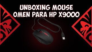 Unboxing Mouse Omen by HP X9000