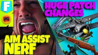 Fortnite News | Patch 7.4 BEST PATCH IN FORTNITE - RPG's Done, Free Battle Pass, Aim Assist and More