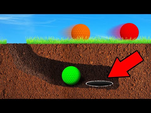BEST WAY TO CHEAT A HOLE IN ONE! (Golf It)