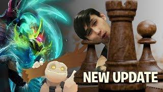 NEW UPDATE NEW HEROES (SingSing Dota Auto Chess)