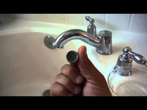 Plugged Bathtub Faucet Low Water Pressure (Cleaning the Aerator Screen)