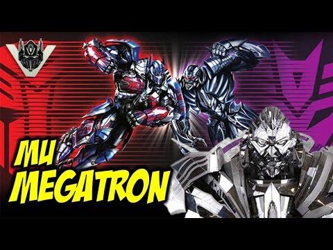 First Look At Transformers: The Last Knight MU Megatron (Head Bust) - 동영상