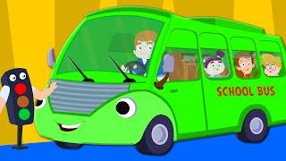 The Wheels On The Bus | Nursery Rhymes | Baby Songs | Kids Rhymes
