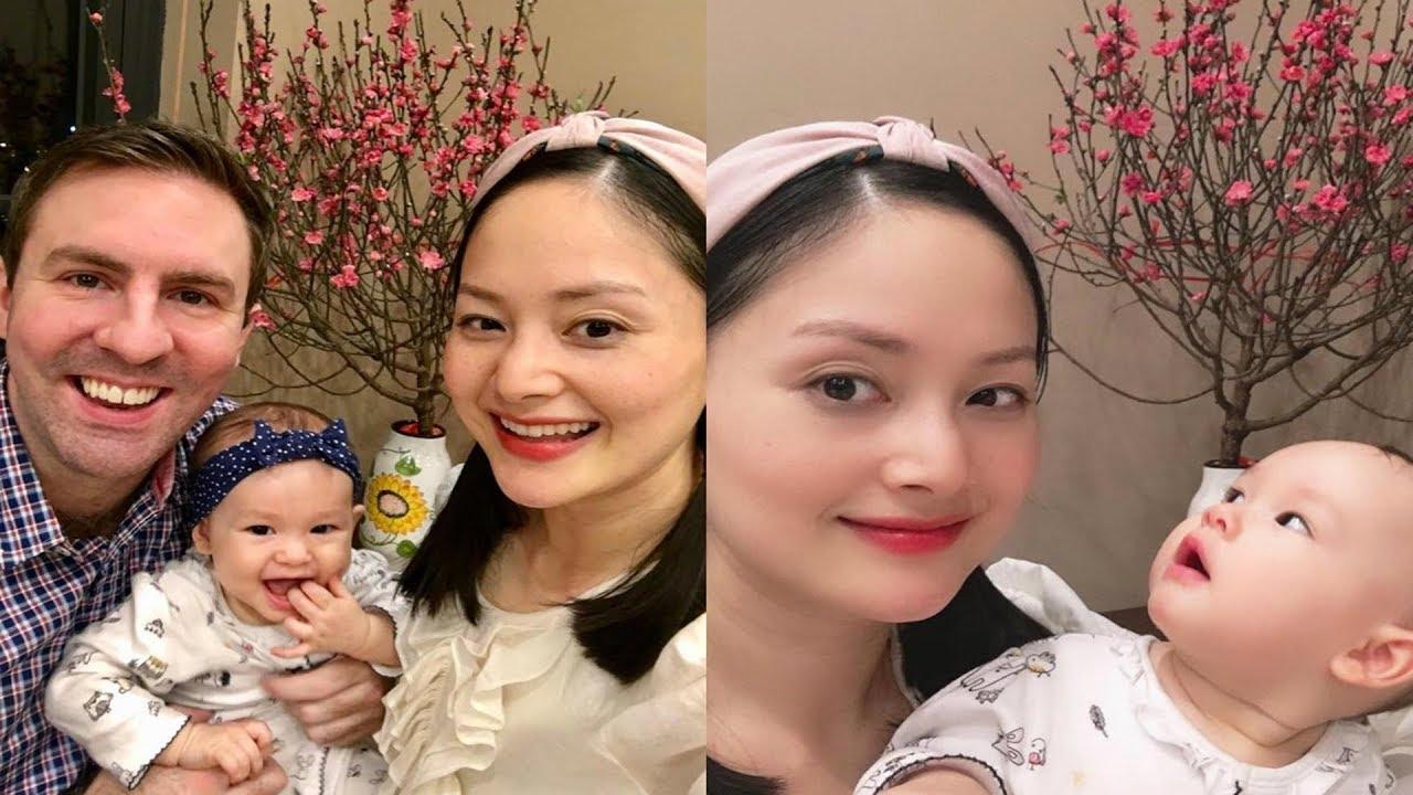 """"""" Nàng dâu Order"""" Lan Phương tiết lộ tranh thủ vắt sữa cho con trên phim trường"""