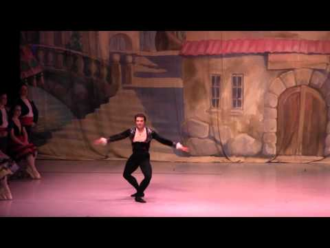 Oleksandr Vykhrest in South Mississippi Ballet Theatre's Don