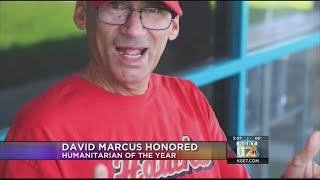 David Marcus honored posthumously as Humanitarian of the Year
