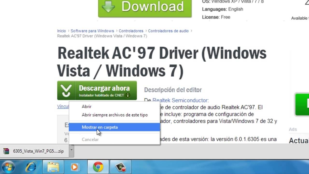 WINDOWS REALTEK BAIXAR DRIVER 7 RTL8139 PARA RED DE