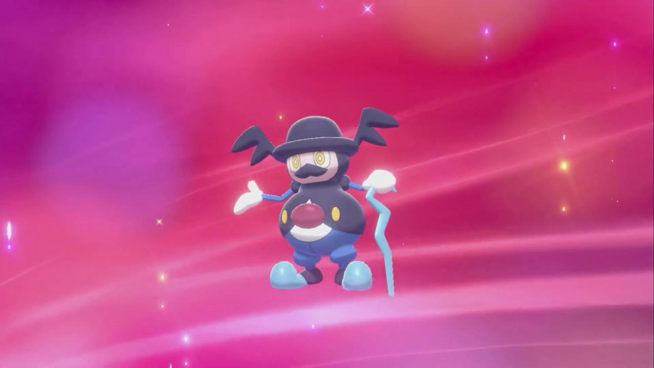 Mr Mime Evolution