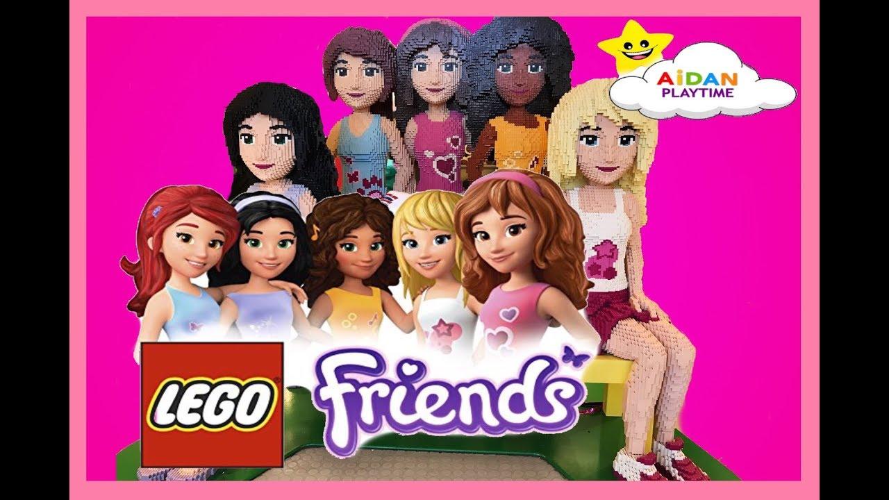 Lego Friendscome Meet Lego Friends Live With Aidan Playtimeolivia