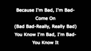 Michael Jackson - Bad - Lyrics