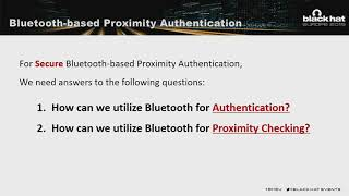 BlueMaster: Bypassing and Fixing Bluetooth-based Proximity Authentication