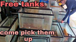 90 tanks to give away - ohio fish rescue - trying to help the community