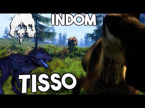 The Isle - INDOMINUS TISSO REX, NEW AI THAT CAN KILL & SUB TISSO UPDATE - Gameplay