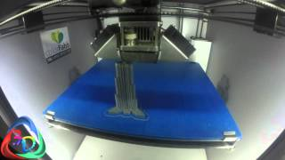 colorFabb Timelapse Contest 2015 - entry by 3D Printare Scanare