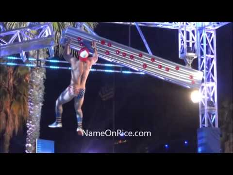 AMERICAN NINJA WARRIOR (PART 6/6) SEASON 6 VENICE BEACH CALIF MARCH 16, 2014