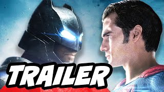 Batman v Superman International Trailer Breakdown